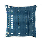 The Cozy Nomad Grid Light Indigo Pillow