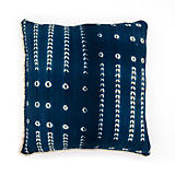 The Cozy Nomad Grid Dark Indigo Pillow
