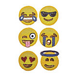 Kim Seybert Emoji Coasters - Set of 6
