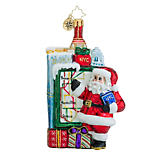Christopher Radko Getting Around Town Ornament