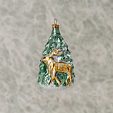 Nostalgie Tree With Deer Ornament