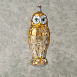 Nostalgie Gold Owl Ornament
