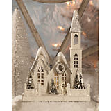 Bethany Lowe Designs Ivory Church