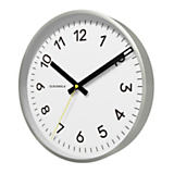 Cloudnola Now White/Silver Wall Clock
