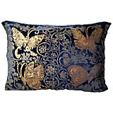 Via Venezia Butteflies Blue Large Pillow