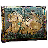 Via Venezia Lioness Large Pillow
