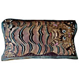 Via Venezia Carpet Tiger Plum/Grey Large Pillow