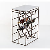 Interlude Home Caymus Wine Rack Side Table