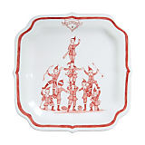 Juliska Country Estate Ruby Coaches Party Plate