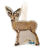 Coral & Tusk Deer with Lights Ornament