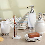 York Ceramic Bath Accessories