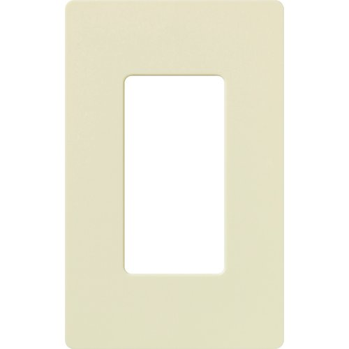 Lutron Claro Gloss Finish 1-Gang Wallplate