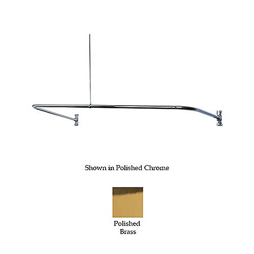 "U-Shaped - Chrome 54"" Length"