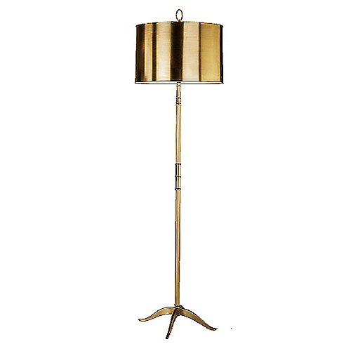 Porter Brass Floor Lamp
