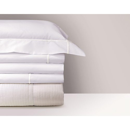 Yves Delorme Athena Blanc Fitted Sheet
