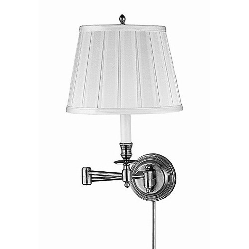 Candlestick Swing Arm Wall Lamp