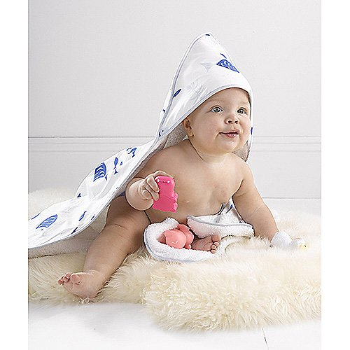Lulu DK for Matouk Hooded Baby Towel