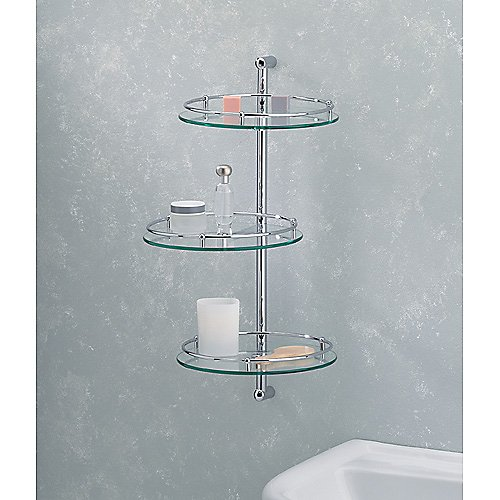 Essential 3-Glass Shelf