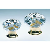 Omnia 4901 Clear Cabinet Knobs