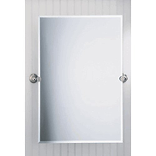 Laurel Avenue Rectangular Bevel Mirror by Gatco