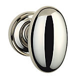 "432 Privacy Knob Set with 2-5/8"" Rose By Omnia"