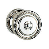 "430 Privacy Knob Set with 2-5/8"" Rose By Omnia"