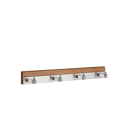 B1067 Quadruple Coat Rack By Smedbo
