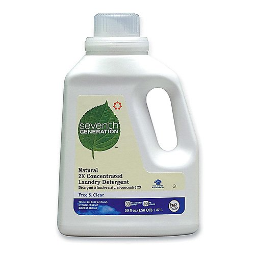Seventh Generation Natural 2X Concentrated 32 oz Laundry Liquid
