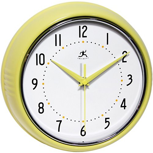 "Infinity 9.5"" Retro Wall Clock"