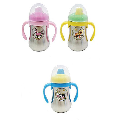 Baby Cie Stainless Steel Sippy Bottle