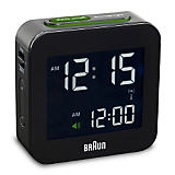 Braun Digital LCD Alarm Clock
