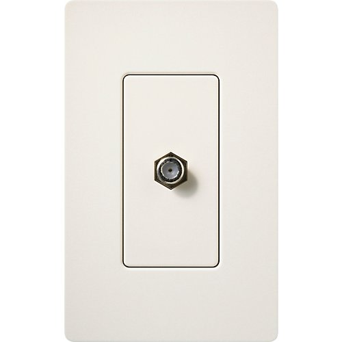 Lutron Diva Satin Finish Cable Jacks