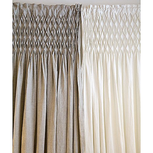 Pom Pom at Home Organic Smocked Curtain Panels