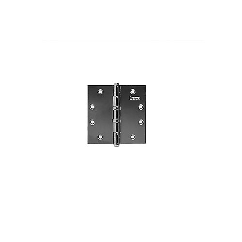 S4.5x4.5x.134BB Button Tip Square Corner Hinge
