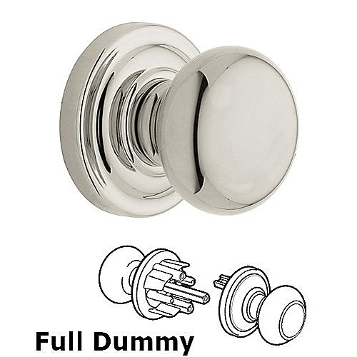 Baldwin 5015 Classic Full Dummy Knob w/5048 Rose