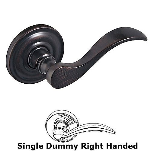 Baldwin 5455V Right Hand Half Dummy Wave Lever w/5048 Rose
