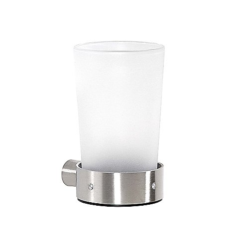 Cool Lines Crystal Steel Wall Mount Tumbler Holder