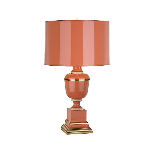 Robert Abbey Tangerine Lacquered Table Lamp
