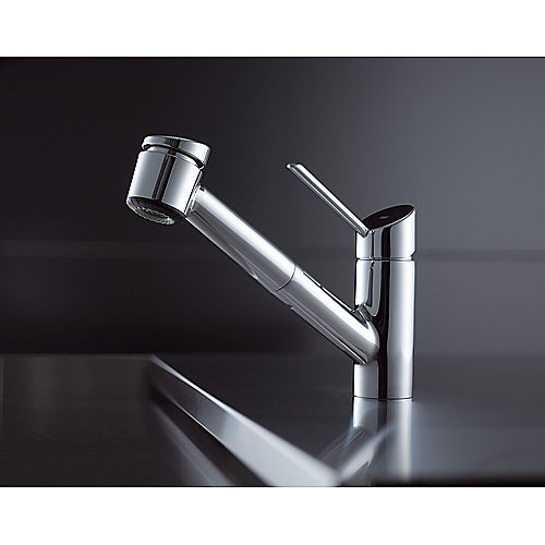 KWC 10.021.033.127 Edge Kitchen Single Pull Out Lever Stain.Stee