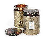 Voluspa Large Embossed Jar Candle
