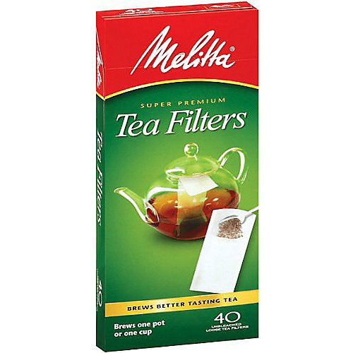 Melitta Loose Tea Filter, 40 Ct.
