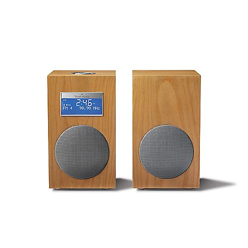 Tivoli Model 10 Stereo System in Cherry/Silver