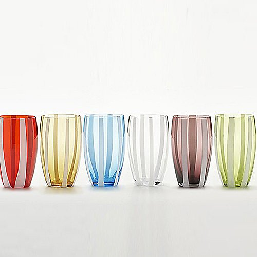 Zafferano Gessato Beverage Glass