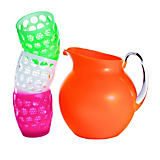 Mario Luca Giusti Palla Fluo Pitchers and Lente Tumblers