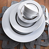 Charmante Maison Platinum Limoges Dinnerware