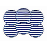 Caskata Beach Towel Stripe Dinnerware