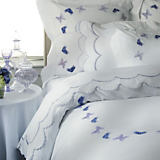 Gracious Home Luxury Bedding Farfalle Duvet & Sham