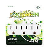 Go Green 3-Outlet Wall Tap