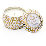 Voluspa Small Decorative Tin Candle