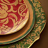 L'Objet Fortuny Assorted Dinnerware Collection